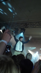 Passion Pit in concert.
