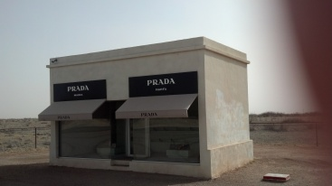 Prada store - has to be installation art.