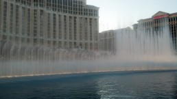Fountain at the Bellagio