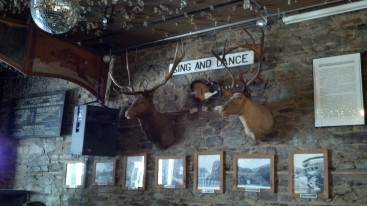 Decor at the Iron Door Saloon (The Oldest Bar in California)