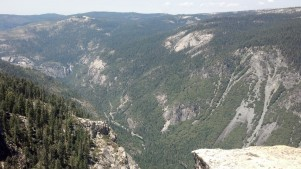 View of Road Yosemite