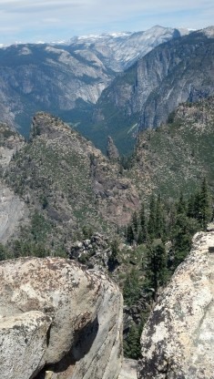 Yosemite Pohono Trail View