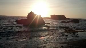 Sunshine at Glass Beach