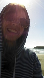 Hoodie on the Beach