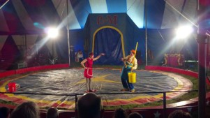 Clowns at the Culpepper & Merriweather Circus