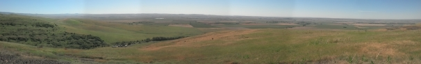 Only panorama can attempt to capture the vastness.