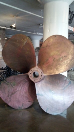 Really large propeller