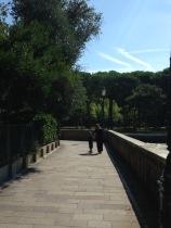 People Strolling